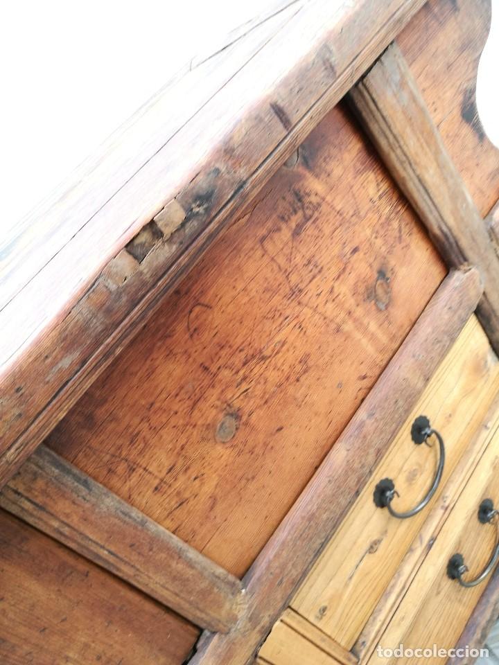 Arte: PRECIOSO ALTAR BUFFET CHINO APARADOR mostrador MADERA CIPRES DINASTIA QING SIGLO XIX-ORIGINAL REF-DC - Foto 45 - 172785724
