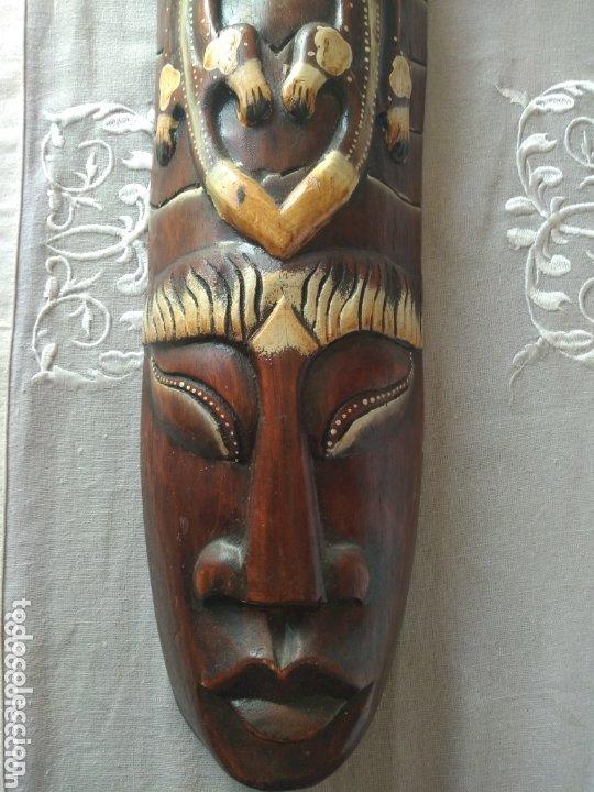 Arte: ESCULTURA ÁFRICA DE MADERA TIPO BAMBÚ MUY LIGERA). MÁS ARTÍCULOS ANTIGUOS EN MÍ PERFIL - Foto 10 - 172884315