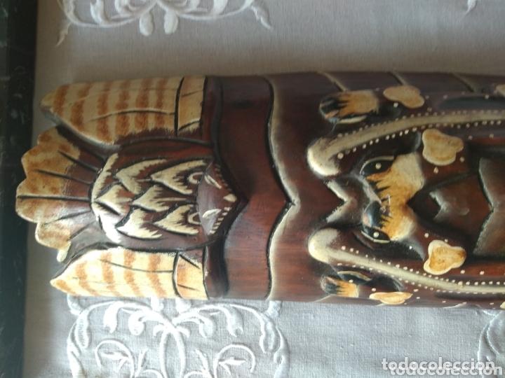 Arte: ESCULTURA ÁFRICA DE MADERA TIPO BAMBÚ MUY LIGERA). MÁS ARTÍCULOS ANTIGUOS EN MÍ PERFIL - Foto 15 - 172884315