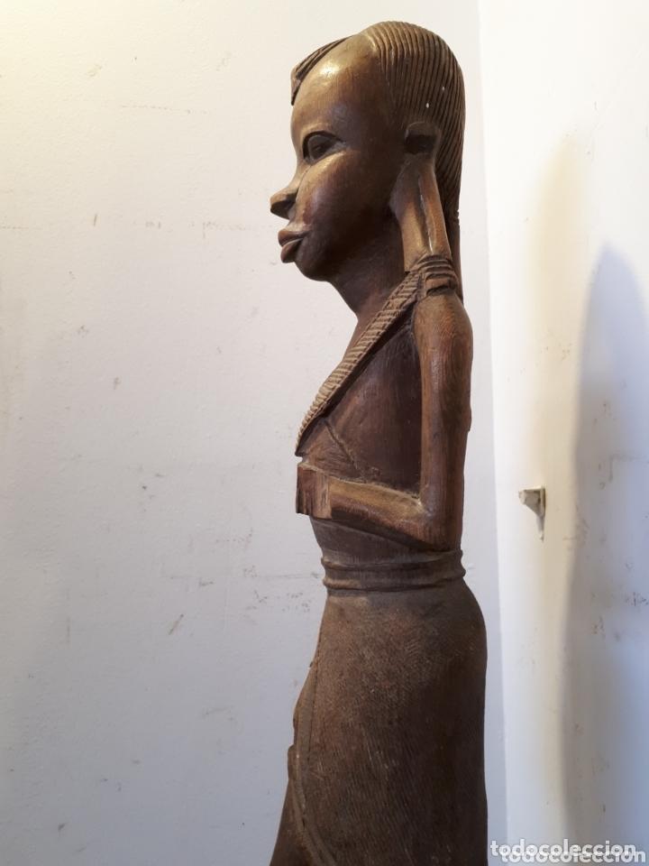Arte: Elegante talla de madera africana 51 cm - Foto 4 - 172890019