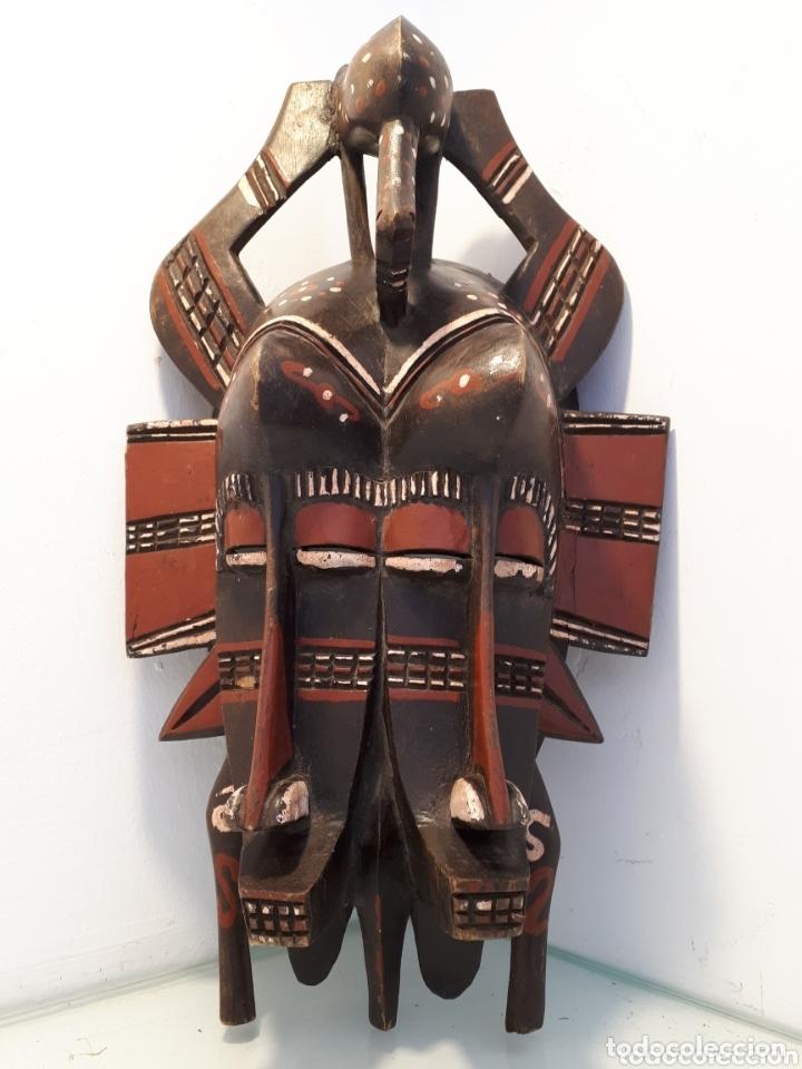 MÁSCARA SENUFO MALI (Arte - Étnico - África)