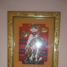 Arte: CUADRO SIN ESTRENAR DE PERÚ -CHALÁN DOMADOR DE CABALLOS. Lote 173525575