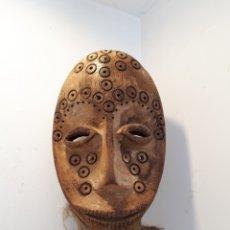 Arte: MÁSCARA AFRICANA LEGA CONGO. Lote 173557552
