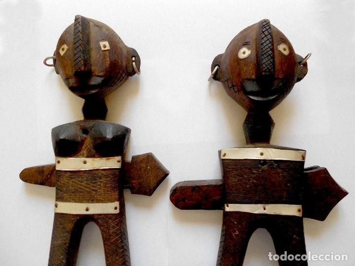 Arte: Arte africano - Madera tallada - Foto 2 - 173851677
