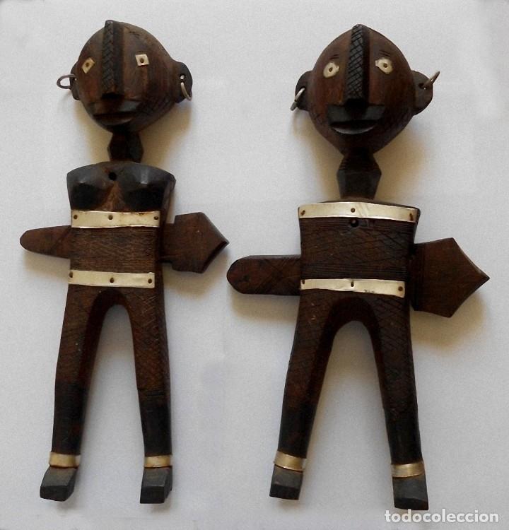 Arte: Arte africano - Madera tallada - Foto 3 - 173851677