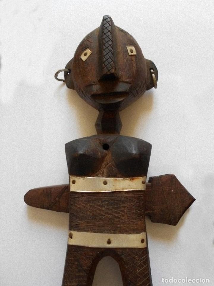 Arte: Arte africano - Madera tallada - Foto 4 - 173851677