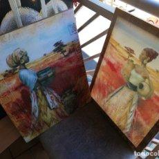 Arte: CUADROS NEGRAS AFRICANAS. Lote 174048377