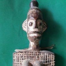 Arte: CUCHARON AFRICANO TALLADO A MANO. MEDIADOS S.XX. Lote 174059483