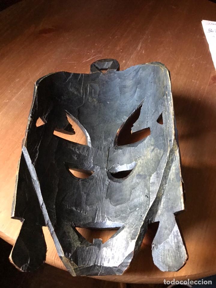 Arte: Máscara de madera de caoba Africana matrimonial - Foto 4 - 174463904