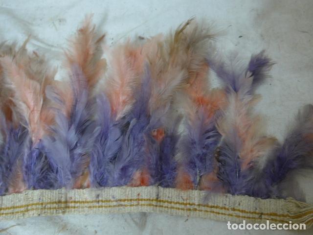 Arte: Antiguo plumaje plumas de indio de tribu del amazonas, original. - Foto 3 - 175160129