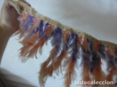 Arte: Antiguo plumaje plumas de indio de tribu del amazonas, original. - Foto 8 - 175160129