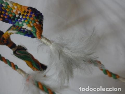 Arte: Antiguo plumaje plumas de indio de tribu del amazonas, original. - Foto 8 - 175160160