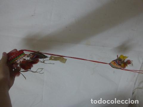 Arte: Antiguo plumaje plumas de indio de tribu wai wai del amazonas, original. - Foto 5 - 175160353