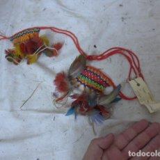 Arte: ANTIGUO PLUMAJE PLUMAS DE INDIO DE TRIBU WAI WAI DEL AMAZONAS, ORIGINAL.. Lote 175160353