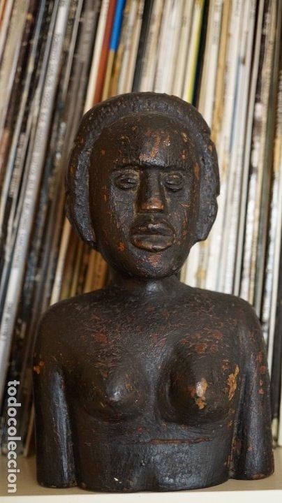 ARTE AFRICANO. BUSTO CONGO. (Arte - Étnico - África)