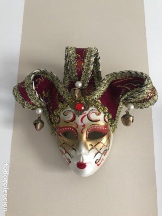Arte: Máscara Veneciana 15 x17 cm - Foto 2 - 175330740