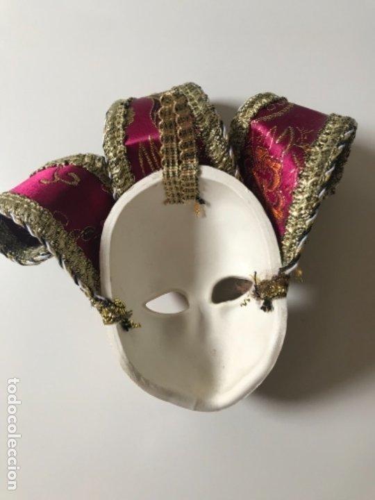 Arte: Máscara Veneciana 15 x17 cm - Foto 3 - 175330740