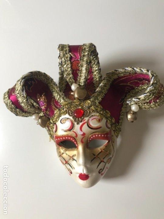 Arte: Máscara Veneciana 15 x17 cm - Foto 4 - 175330740