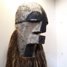 Arte: MÁSCARA AFRICANA SONGYE CONGO. Lote 175858365