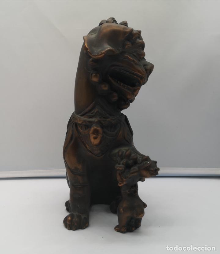 Arte: Imagen antigua de León Fu protector de la ciudad prohibida de Pekín . - Foto 4 - 176119274