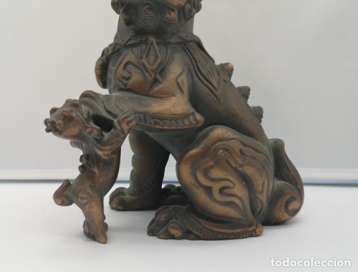 Arte: Imagen antigua de León Fu protector de la ciudad prohibida de Pekín . - Foto 8 - 176119274