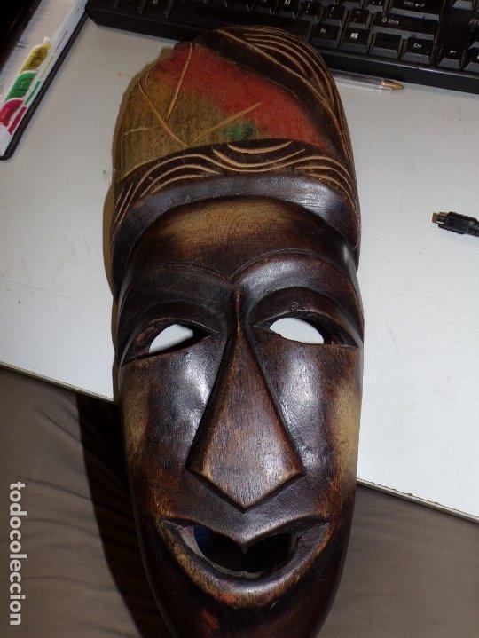 MASCARA AFRICANA (Arte - Étnico - África)