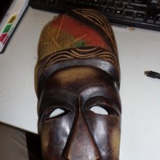 Arte: MASCARA AFRICANA. Lote 176939152