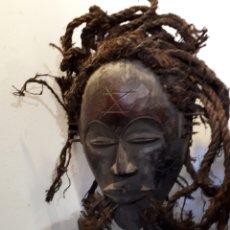 Arte: MÁSCARA AFRICANA CHOKWE. Lote 177416397