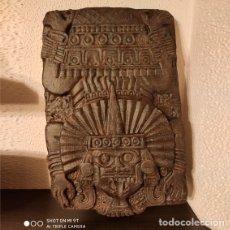 Arte: RETABLO MAYA DE TEPETZINTLA . ESCANEO 3D DE PIEZA ORIGINAL. CALIDAD EXTREMA 45CM. Lote 178198083