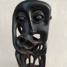 Arte: ARTE AFRICANO, FIGURA MACONDE ANTIGÜEDADES, MADERA, HECHO A MANO . Lote 179213733