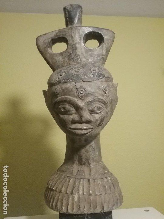 TALLA AFRICANA DE 45 CM. (Arte - Étnico - África)
