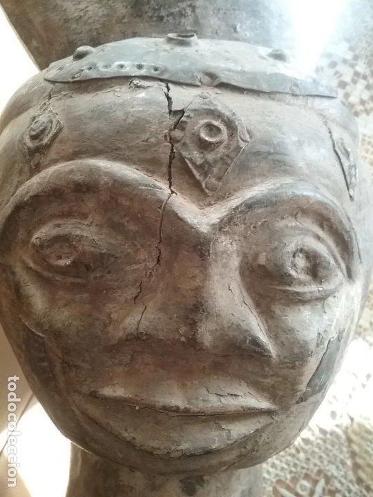 Arte: Talla africana de 45 CM. - Foto 2 - 180260427