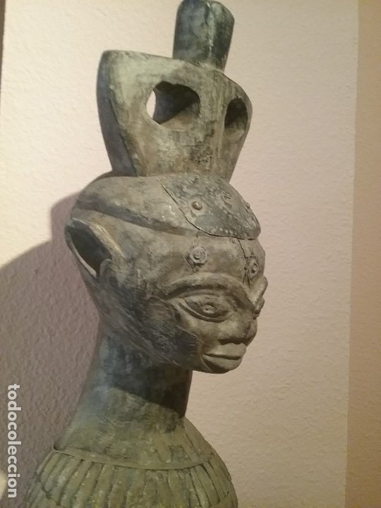 Arte: Talla africana de 45 CM. - Foto 4 - 180260427