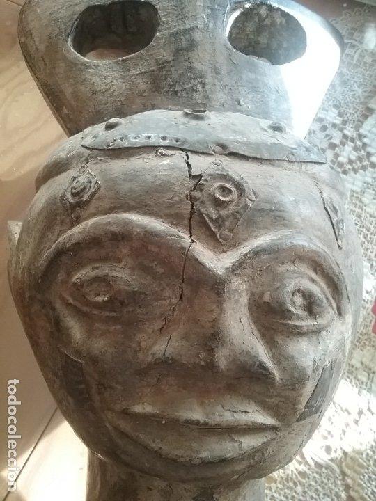 Arte: Talla africana de 45 CM. - Foto 6 - 180260427