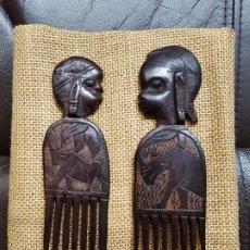 Arte: PEINES AFRICANOS. Lote 180348713
