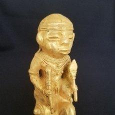 Arte: INDIO TOITOTOQUE PRECOLOMBINA QUIMBAYA DE ORO TUMBAGA PESO 83 GRAM - Nº14. Lote 180958797