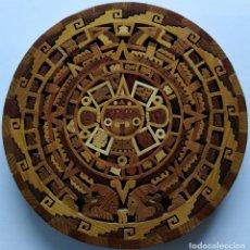 Arte: CALENDARIO AZTECA. PIEDRA DEL SOL. CUAUHXICALLI.. Lote 181112343