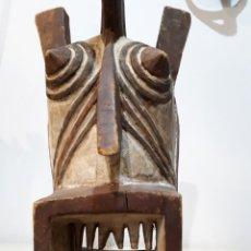Arte: MÁSCARA AFRICANA BURKINA FASO 65 CM. Lote 181603637