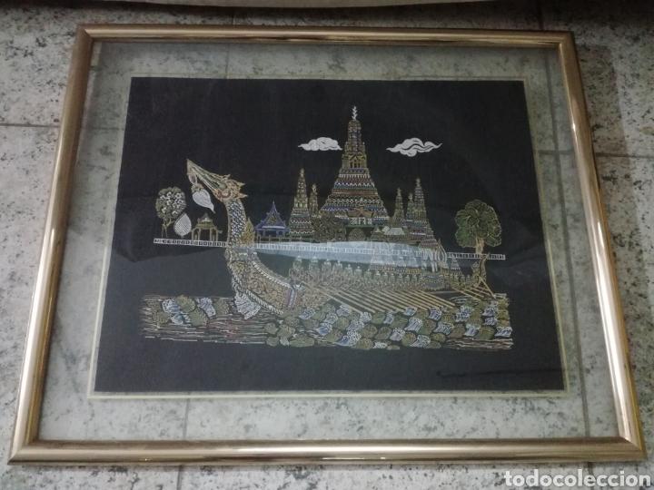 Arte: Colección de pintura oriental sobre tela - Foto 3 - 182218083