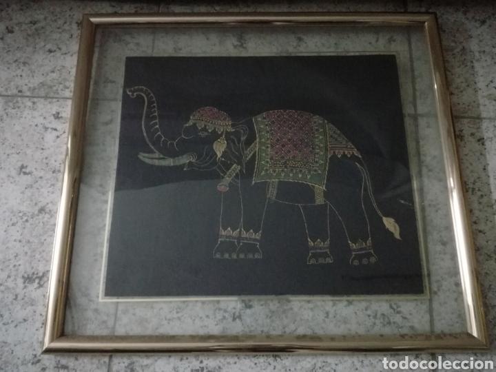 Arte: Colección de pintura oriental sobre tela - Foto 4 - 182218083
