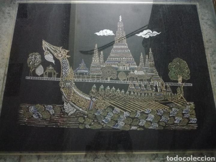 Arte: Colección de pintura oriental sobre tela - Foto 6 - 182218083