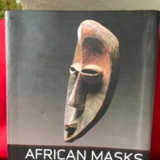 Arte: AFRICAN MASKS: FROM THE BARBIER-MUELLER COLLECTION IRIS HAHNER-HERZOG 2007 MASCARAS AFRICA FOTOS. Lote 182404012