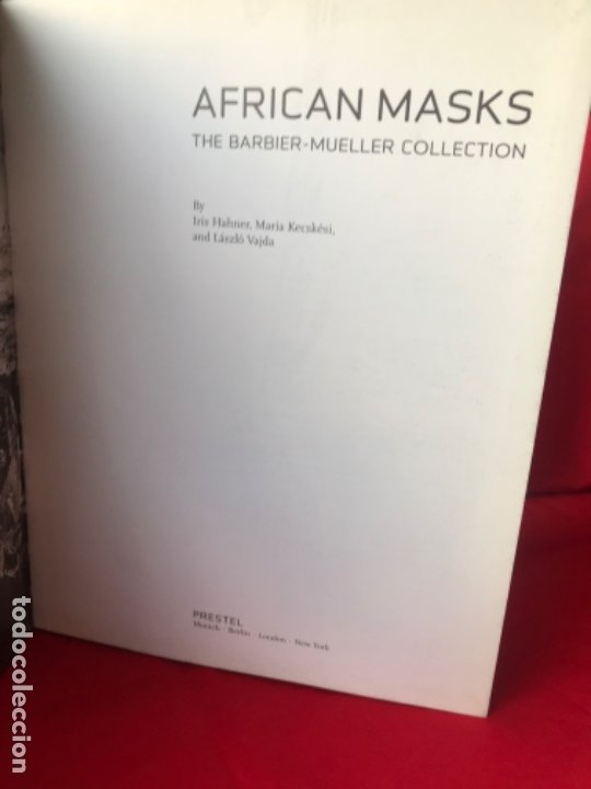 Arte: African Masks: from the Barbier-Mueller Collection Iris Hahner-Herzog 2007 mascaras africa fotos - Foto 7 - 182404012