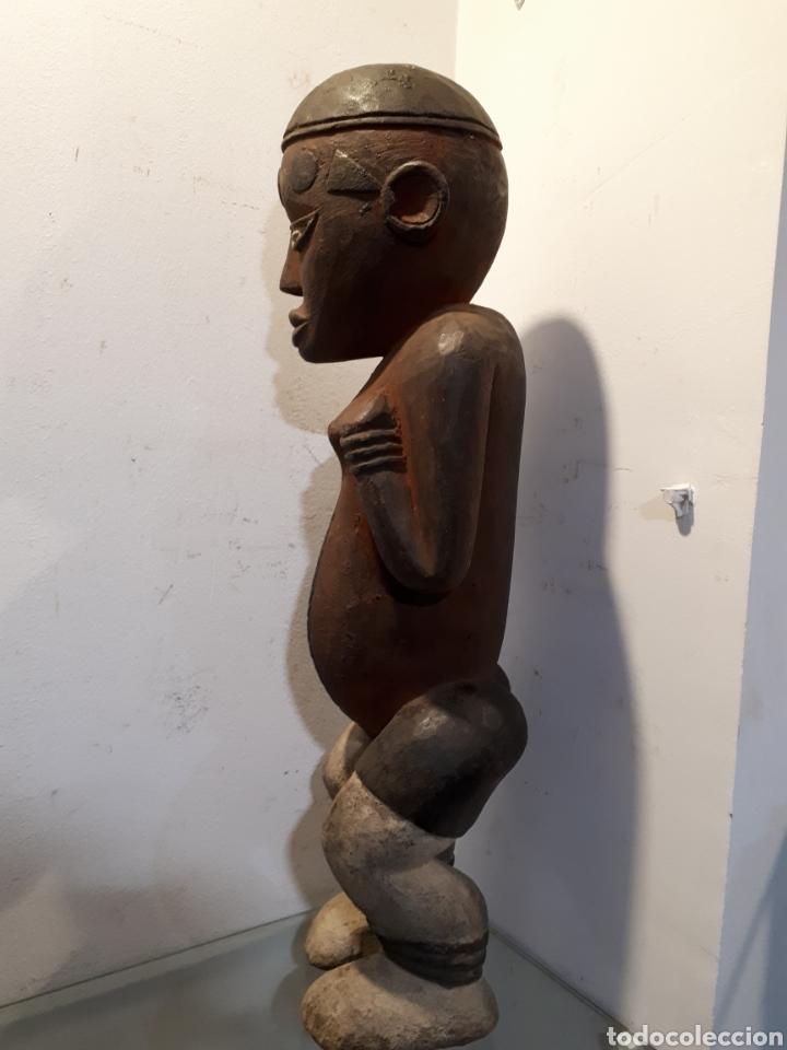 Arte: Talla africana madera 52 cm - Foto 4 - 182519222
