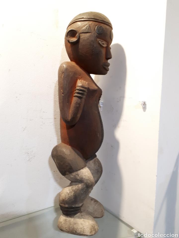 Arte: Talla africana madera 52 cm - Foto 5 - 182519222