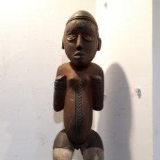 Arte: TALLA AFRICANA MADERA 52 CM. Lote 182519222