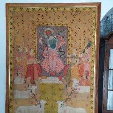 Arte: ANTIGUA PINTURA DEL RAJASTÁN. Lote 182148115