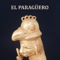 Arte: HOMBRE PAJARO PRECOLOMBINO DE ORO TUMBAGA ORFEBRERIA QUIMBAYA)PESO 94 GR MIDE 9X7 CENTIMET-N70. Lote 183955457