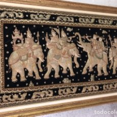 Arte: TAPIZ ORIGINAL DE TAILANDIA. Lote 184664915