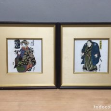 Arte: PINTURA JAPONESA SOBRE PORCELANA. Lote 184695765
